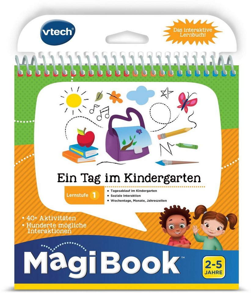 VTech Lernbuch für MagiBook,  Lernstufe 1 - Ein Tag  im Kindergarten  Tag online kaufen 551ea2