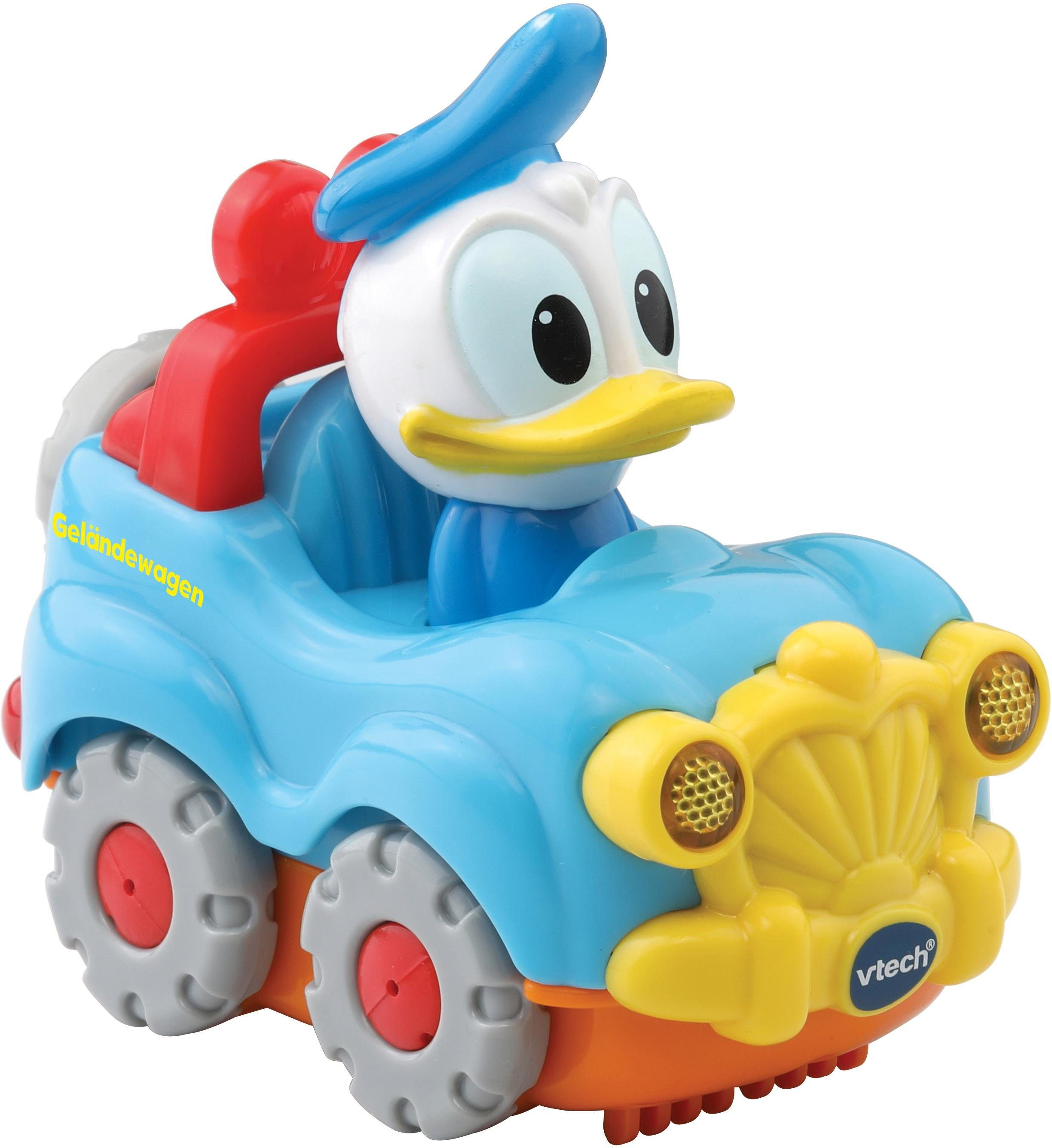 VTech Spielfahrzeug mit Licht und Sound, »TutTut Baby Flitzer Donalds Geländewagen«