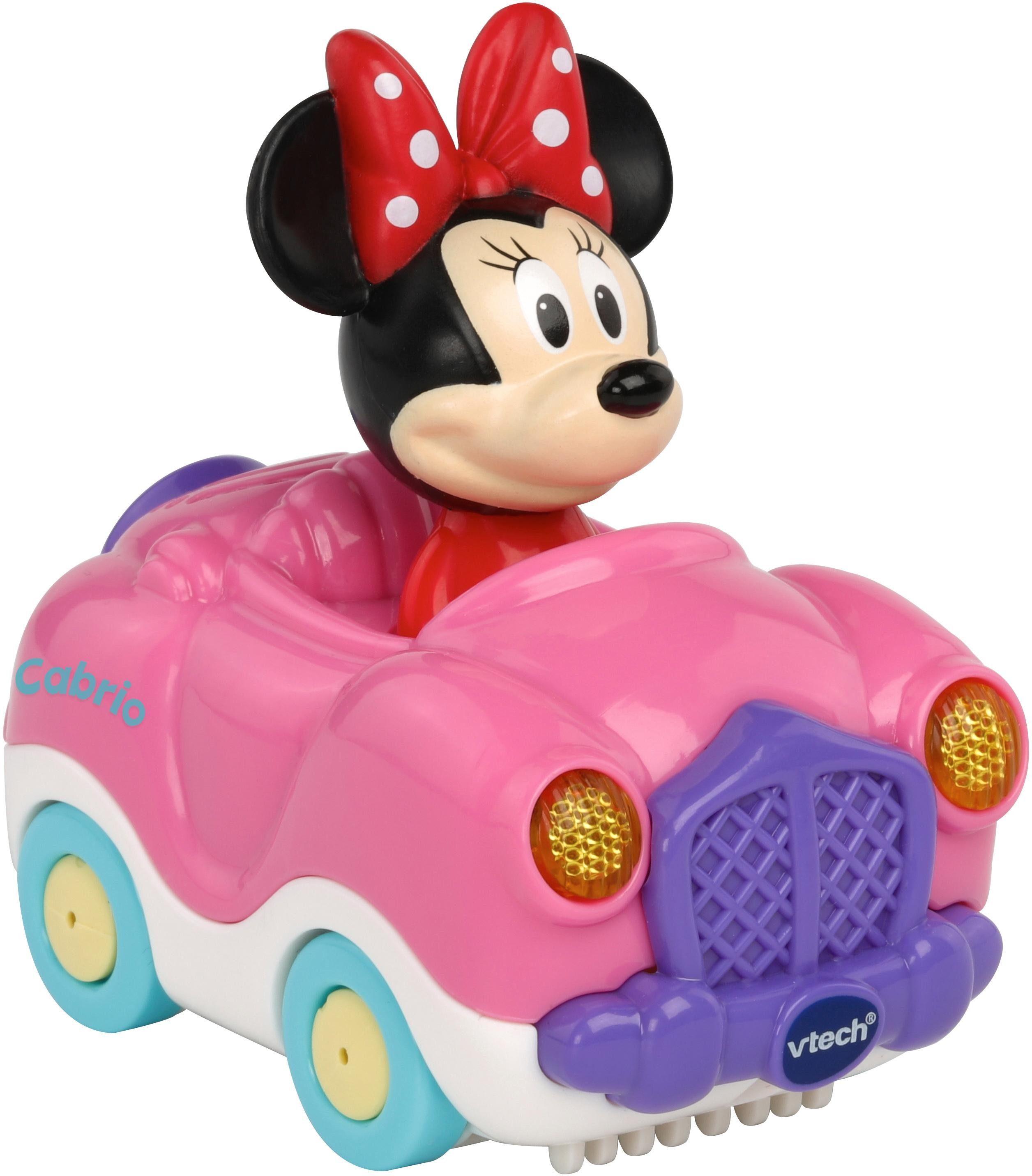 VTech Spielfahrzeug mit Licht und Sound, »TutTut Baby Flitzer Minnies Cabrio«
