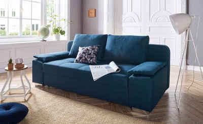 Favorit Schlafsofa in blau online kaufen » türkis & hellblau | OTTO IA89