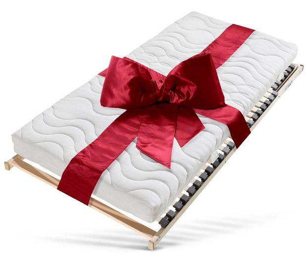 Komfortschaummatratze + Lattenrost »Medibett«, (Set), Lattenrost 1 Million Mal verkauft und im Set gespart!