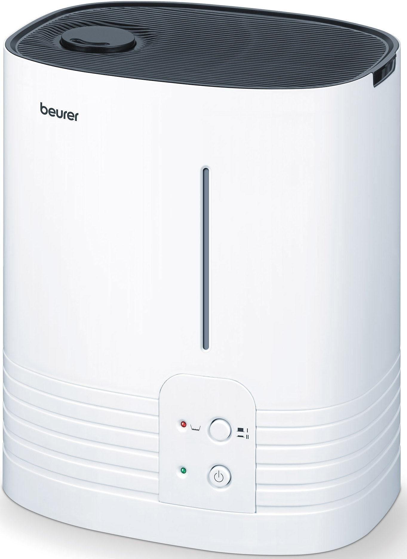 Beurer Luftbefeuchter LB 55, hygienische Warmwasser-Verdampfung