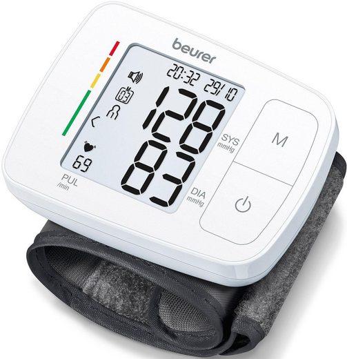 BEURER Handgelenk-Blutdruckmessgerät BC 21, mit Sprachausgabe in fünf Sprachen