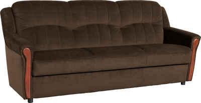 Max Winzer® 3-Sitzer »Trier«, inklusive Bettfunktion & Bettkasten, Breite 206 cm