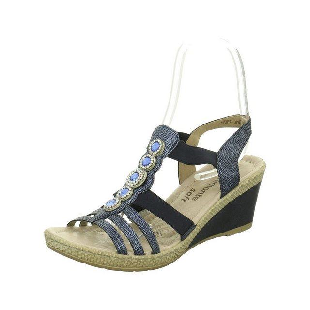 Remonte Keilsandalette | Schuhe > Sandalen & Zehentrenner | Lila | Remonte