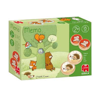 Goula Lernspielzeug »53435 Memo Tom und seine Waldfreunde, Kinderspiel«
