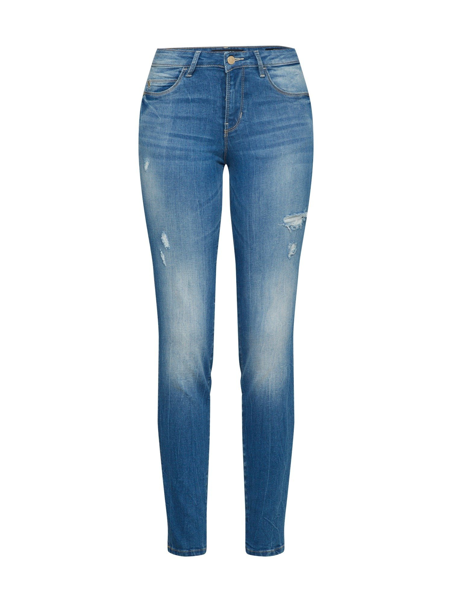 Guess Skinny fit Jeans »CURVE X«, Waschungseffekte online kaufen | OTTO