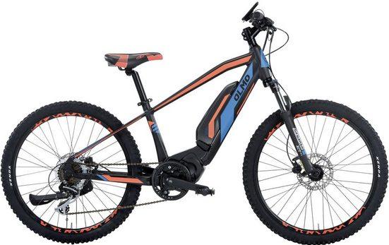OLMO E-Bike »E-JET«, 7 Gang Shimano ACERA Schaltwerk, Kettenschaltung, Mittelmotor 250 W