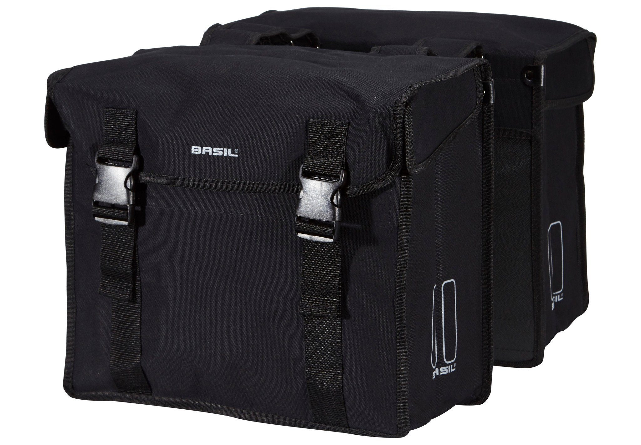 Basil Gepäckträgertasche »Kavan Doppeltasche schwarz«