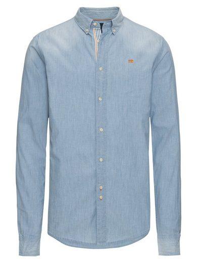 Scotch & Soda Langarmhemd »REGULAR FIT Chambray shirt«