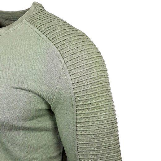 Sweatshirt 19056« Rusty Mit Neal »rn Details Stylischen U14w0qf