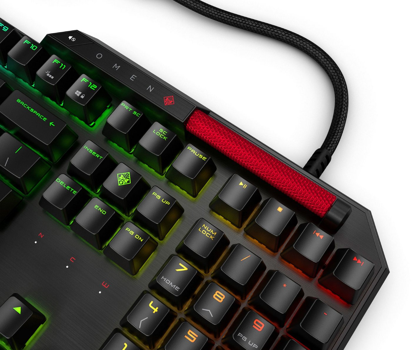 HP OMEN by HP Sequencer Tastatur »Protiere von optischen Switches. Strike faster.«