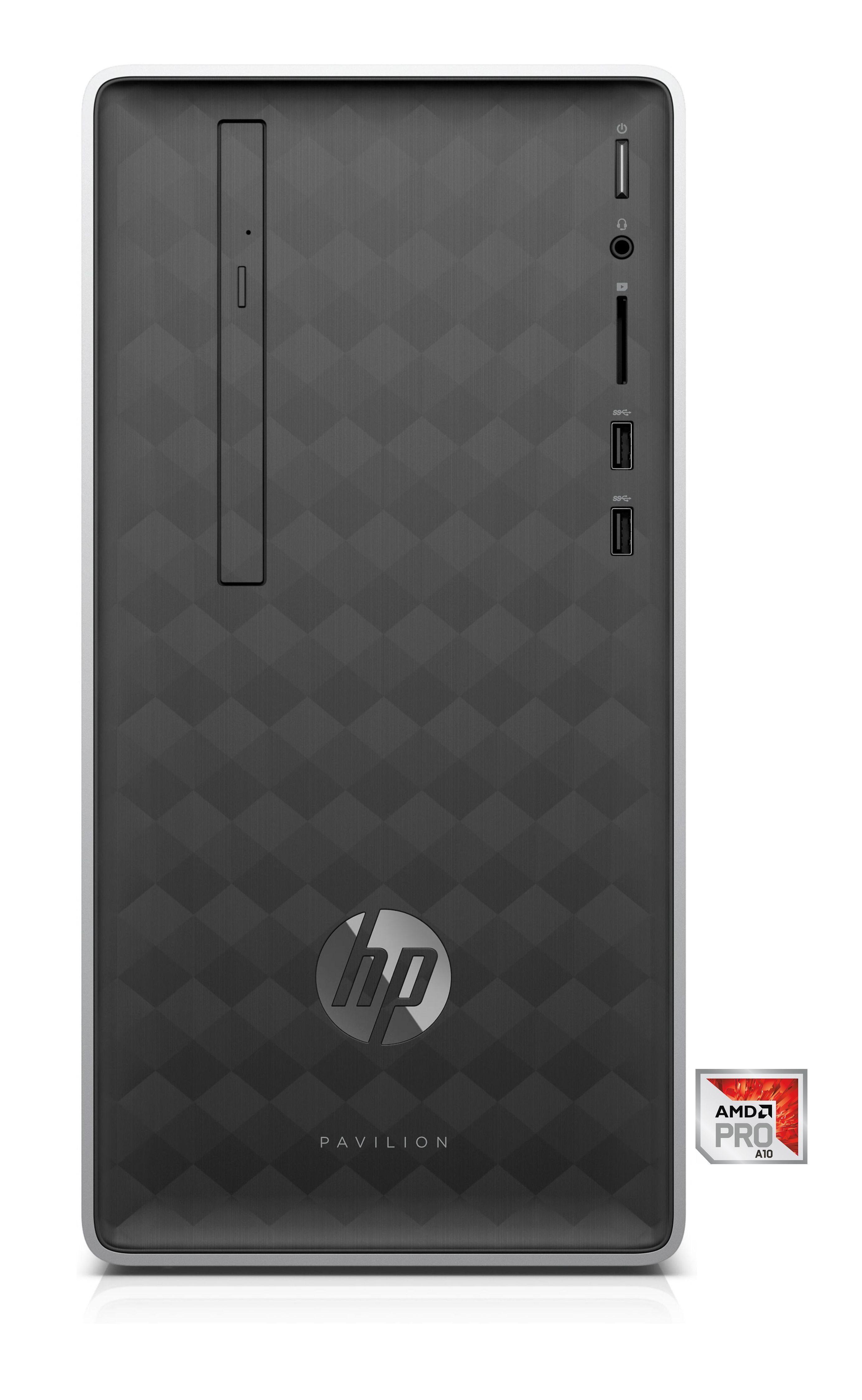 HP Pavilion 590-p0556ng Desktop-PC »AMD 10, 128 GB + 1 TB, 8 GB RAM«