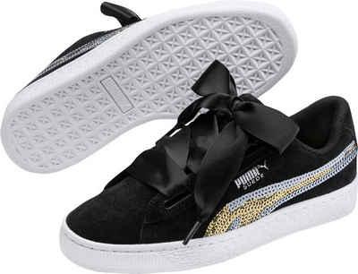Suede Heart Trailblazer SQN Jr Sneaker