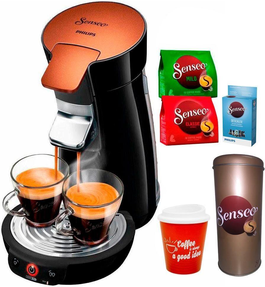 Senseo Kaffeepadmaschine HD7836/90 Viva Café Style, inkl Gratis-Zugaben im Wert von 33,99 €
