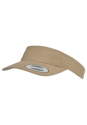 Flexfit Visor (1-St) Curved Visor Cap, Fester Schim, One Size