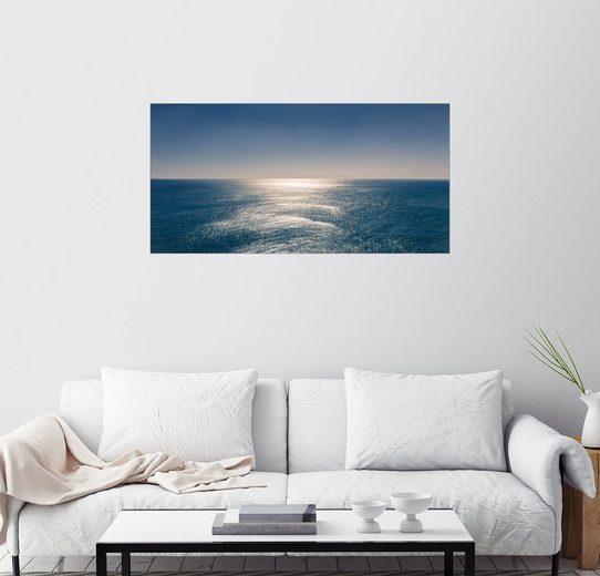 Posterlounge Wandbild - Sascha Kilmer »Ausblick auf den Ozean«