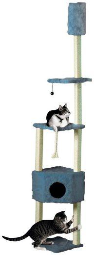 CAT DREAM Kratzbaum-Deckenspanner , B/T/H: 38/38/230-260 cm, blau