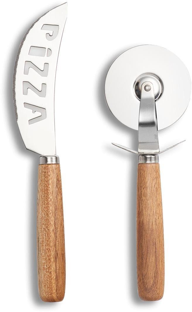 Zeller Present Pizza-Schneide-Set, 2-teilig