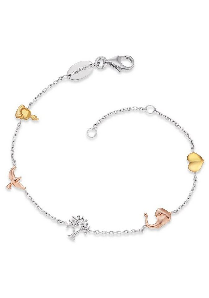 Engelsrufer Silberarmband »Armband Lebensbaum, ERB-LILTREE-TRICO« | Schmuck > Armbänder > Silberarmbänder | Goldfarben | Engelsrufer