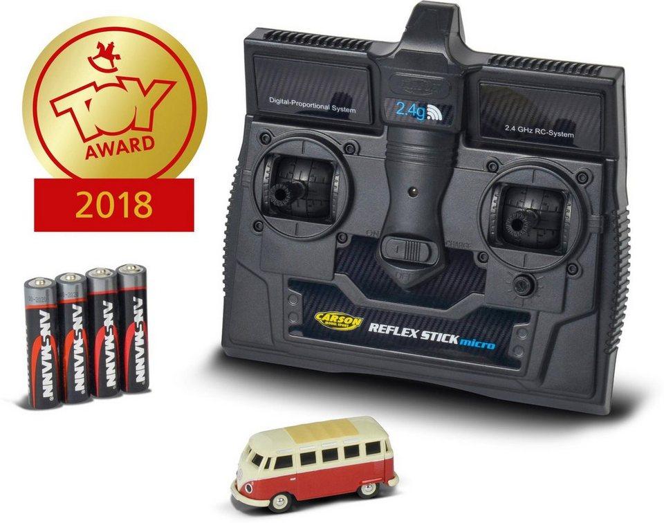 Carson RC-Komplettset, Bus,  VW T1 Samba Bus, 1:87, RTR  online kaufen