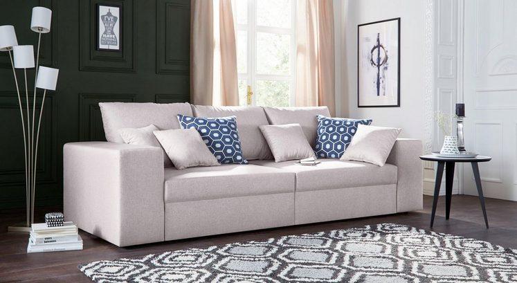 Nova Via Big-Sofa, wahlweise mit Bettfunktion