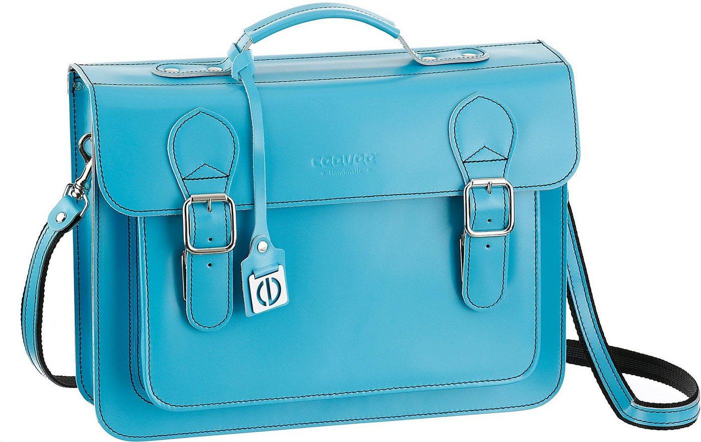 Ceevee Businesstasche »Catchall Catchall Business, Turquoise«, mit Tabletfach   Taschen > Businesstaschen > Aktentaschen   Grün   Ceevee