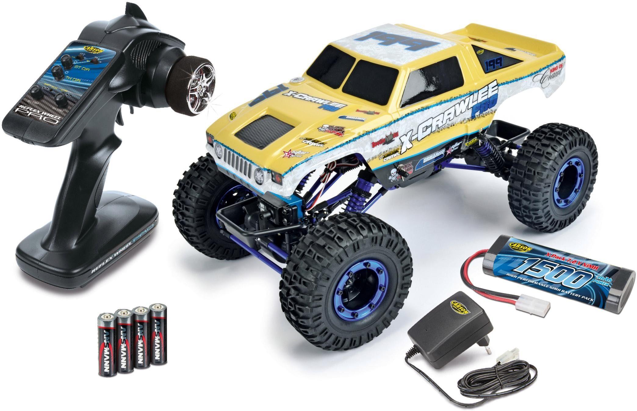 Carson RC-Komplettset, Monstertruck, »X-Crawlee XL, 1:10, RTR«