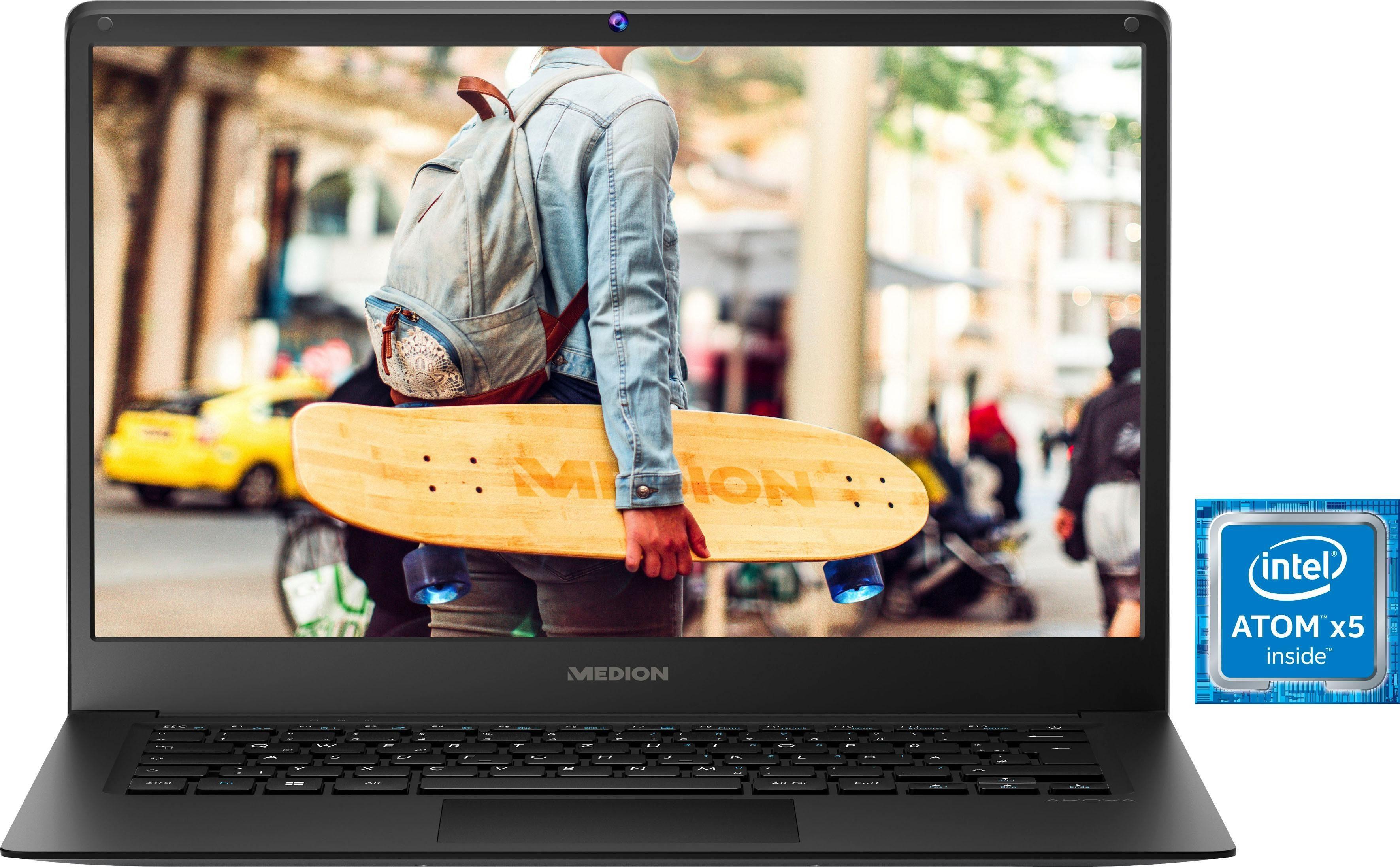 Medion® E4241 Notebook (35,6 cm/14 Zoll, Intel Atom)