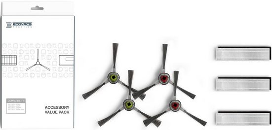 Ecovacs Zubehör-Set DEEBOT Buddy DA60-KTA, Zubehör für DEEBOT SLIMDEEBOT SLIM und SLIM2