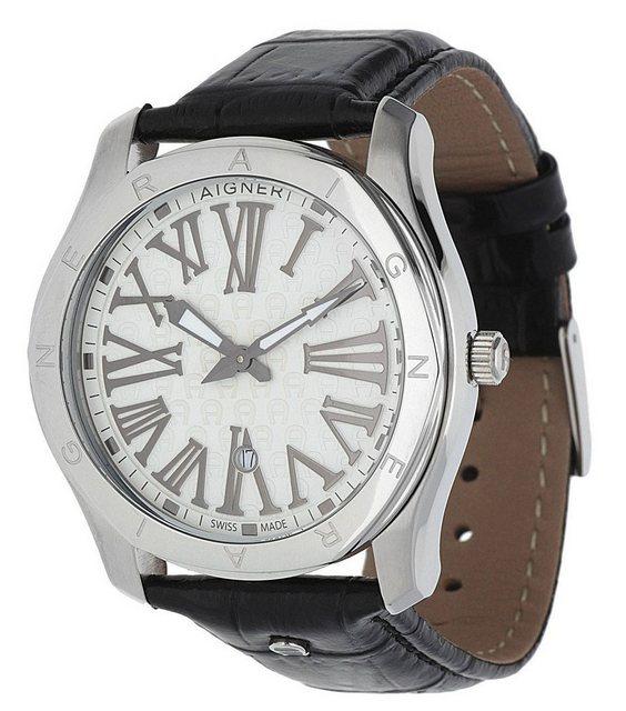AIGNER Automatikuhr »Lazio A42111A« | Uhren > Automatikuhren | Schwarz | AIGNER