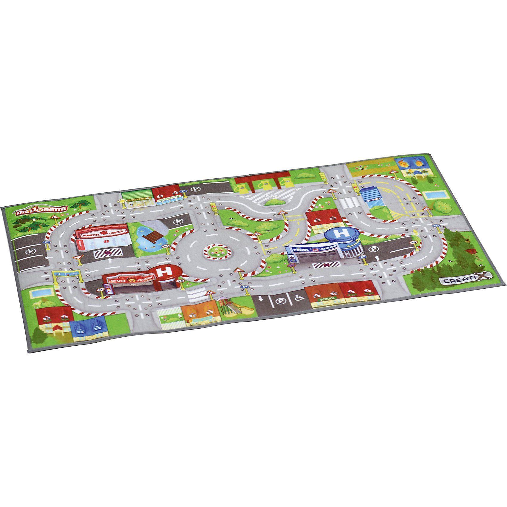 majORETTE Creatix Playmat Rettungsfahrzeuge/Stadt