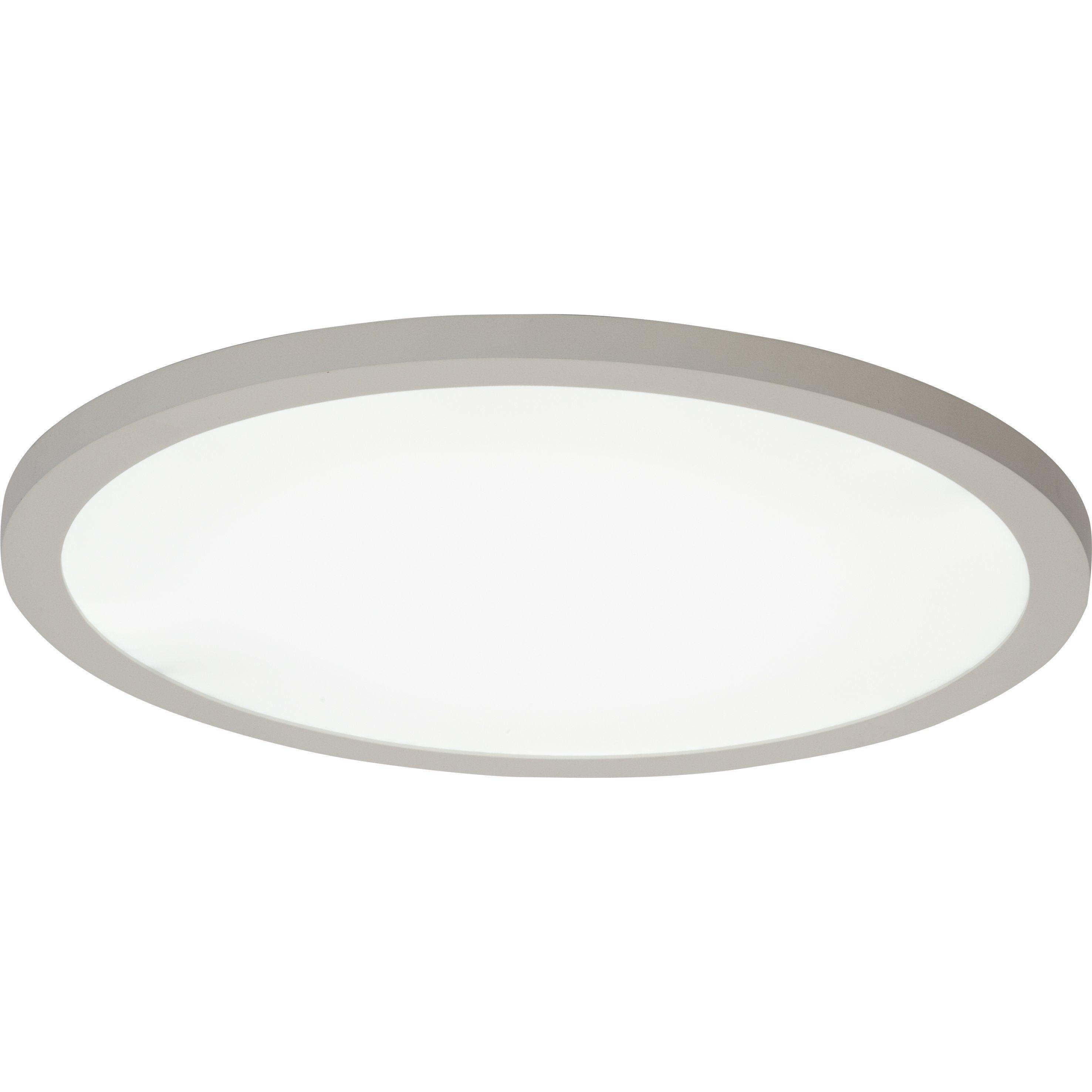 Brilliant Leuchten Smooth LED Deckenaufbau-Paneel 50cm weiß