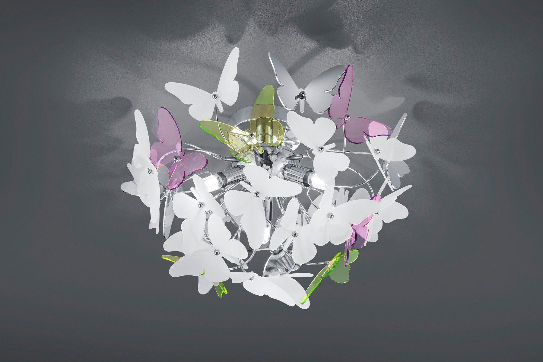 TRIO Leuchten Deckenleuchte »Butterfly«