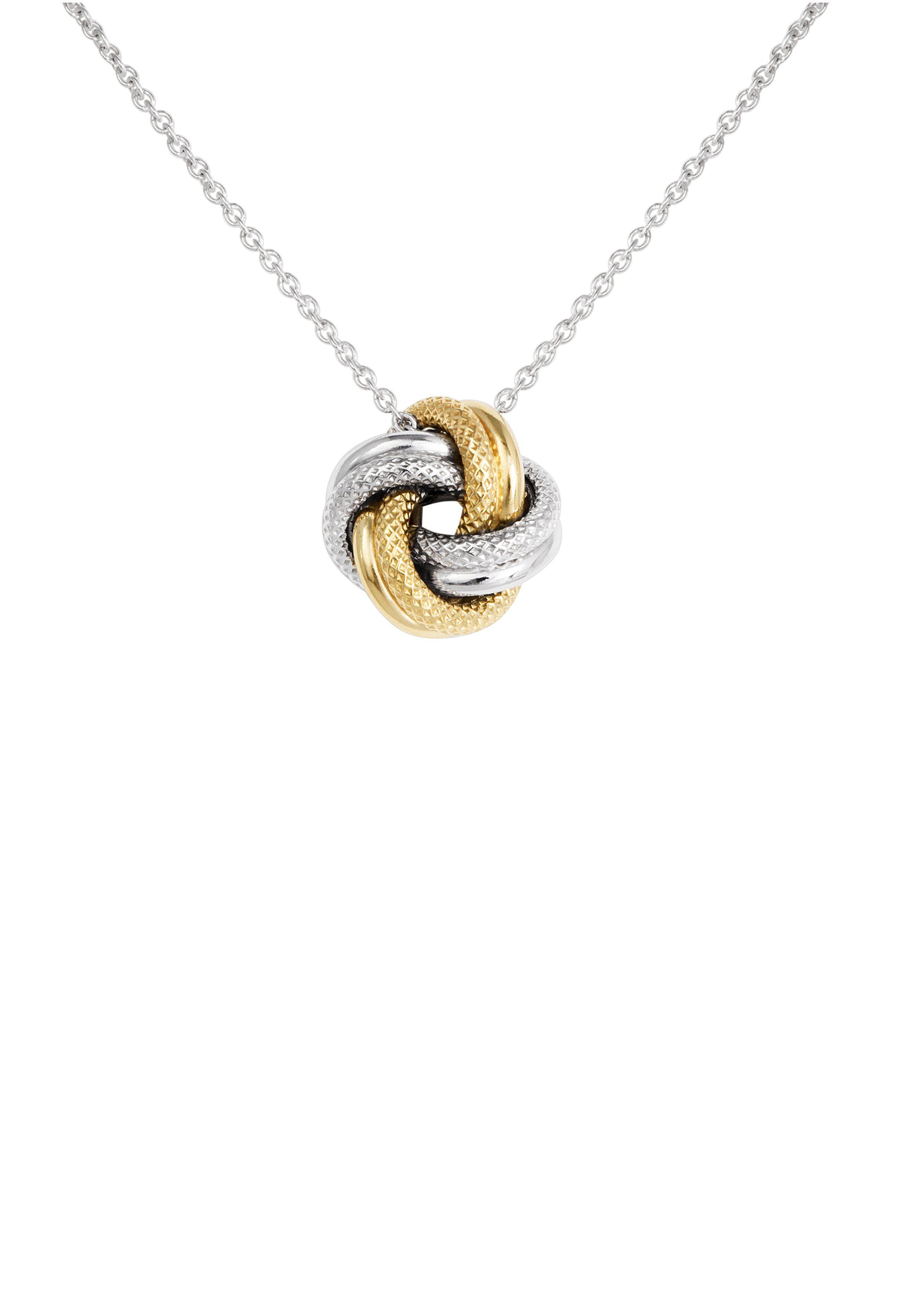 Bella Donna Jewels Halskette mit raffiniertem Knoten-Anhänger