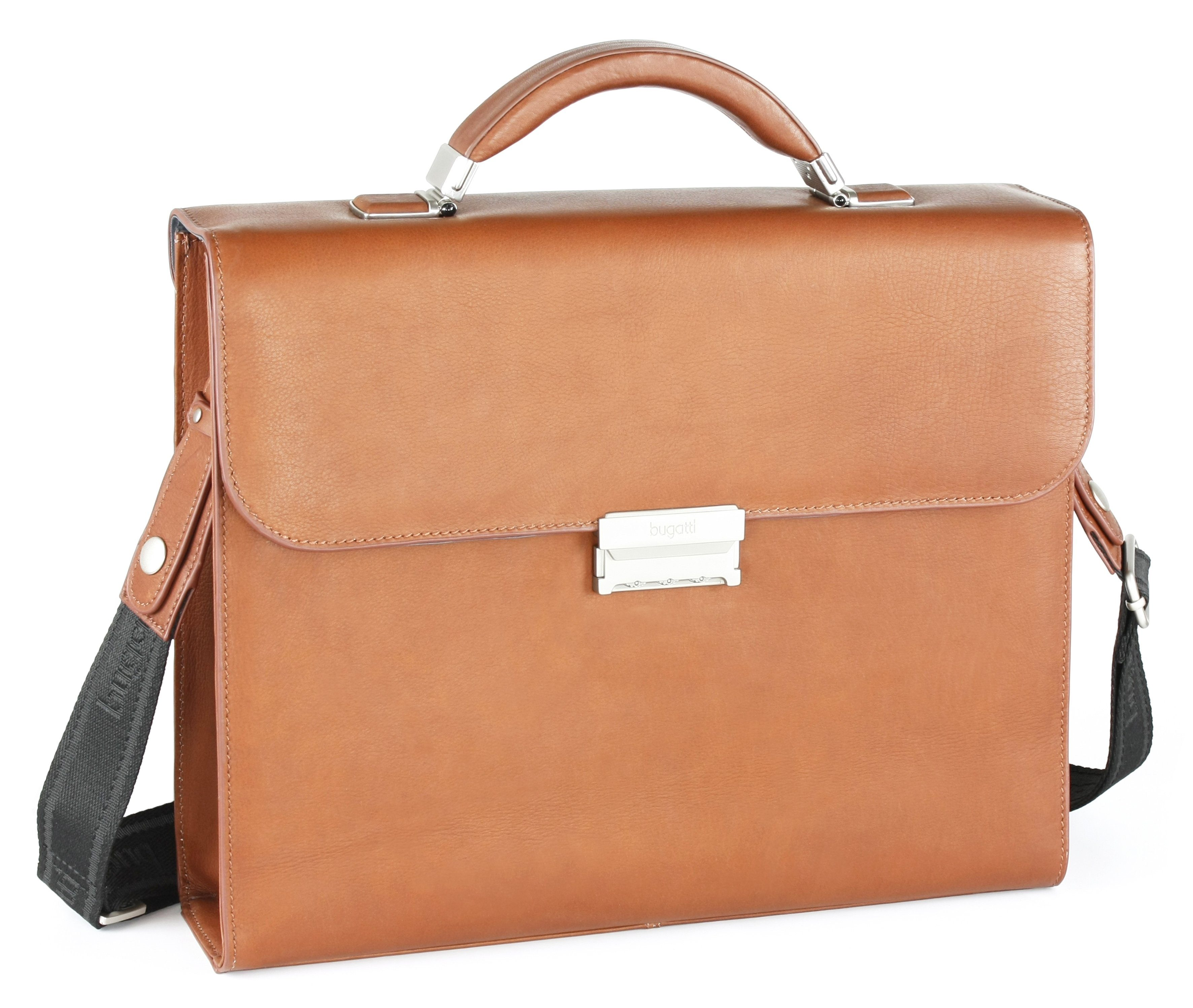 bugatti Businesstasche mit Steckverschluss