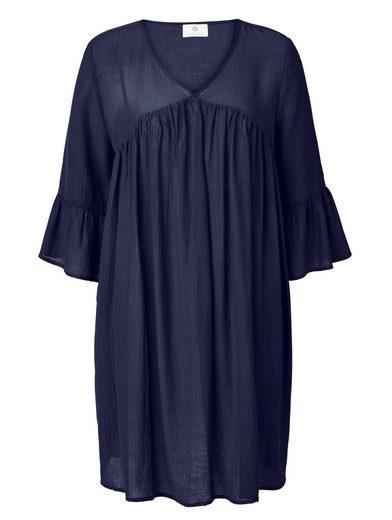 Sienna Kleid Fließende Viskose Qualität mit leichtem Crinkle-Effekt