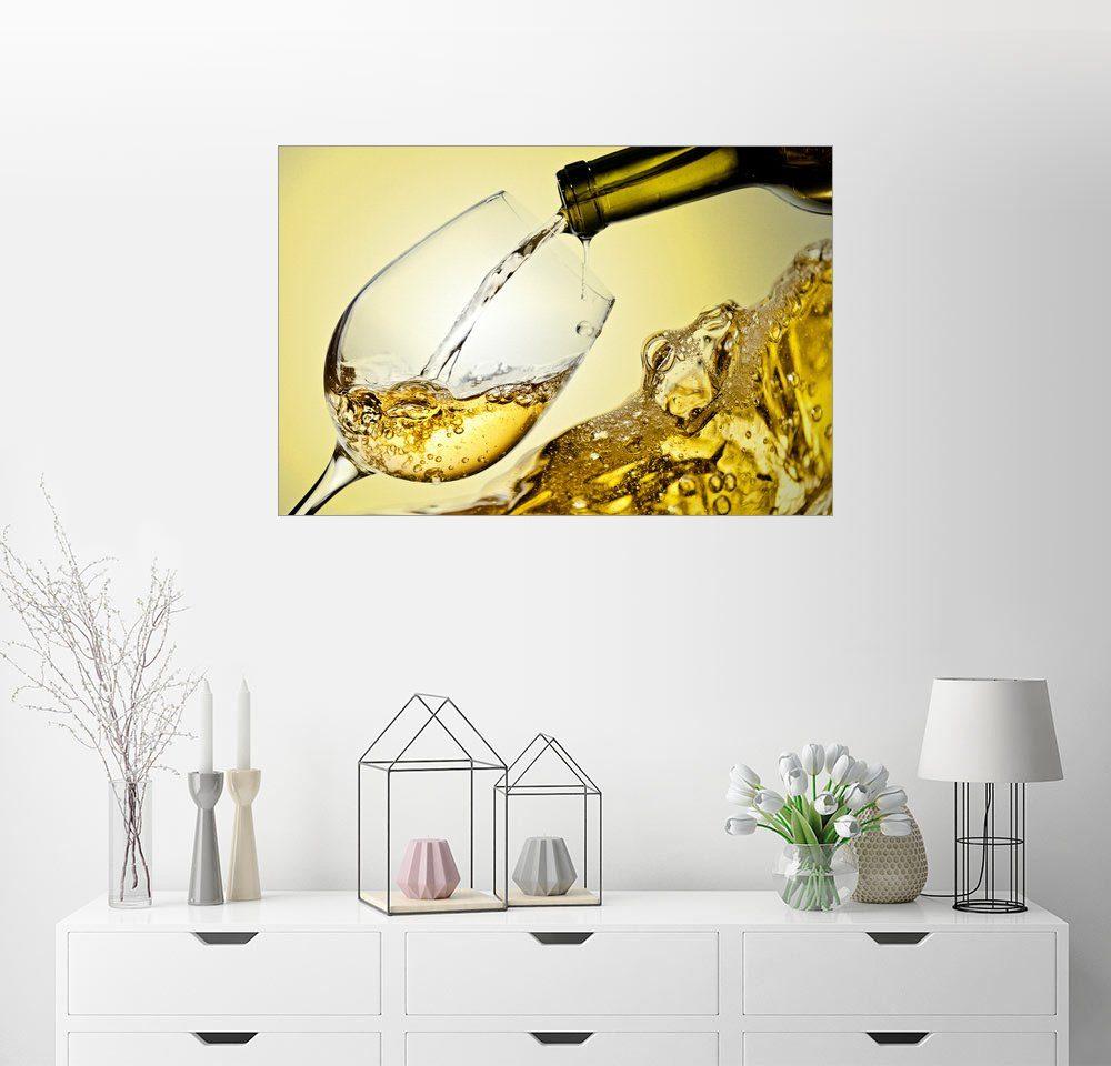 Druck auf Acryl Glas Bild Wandbild Acryl Glasbild Posterlounge Acrylglasbild 60 x 40 cm: Zum Wohl von Editors Choice