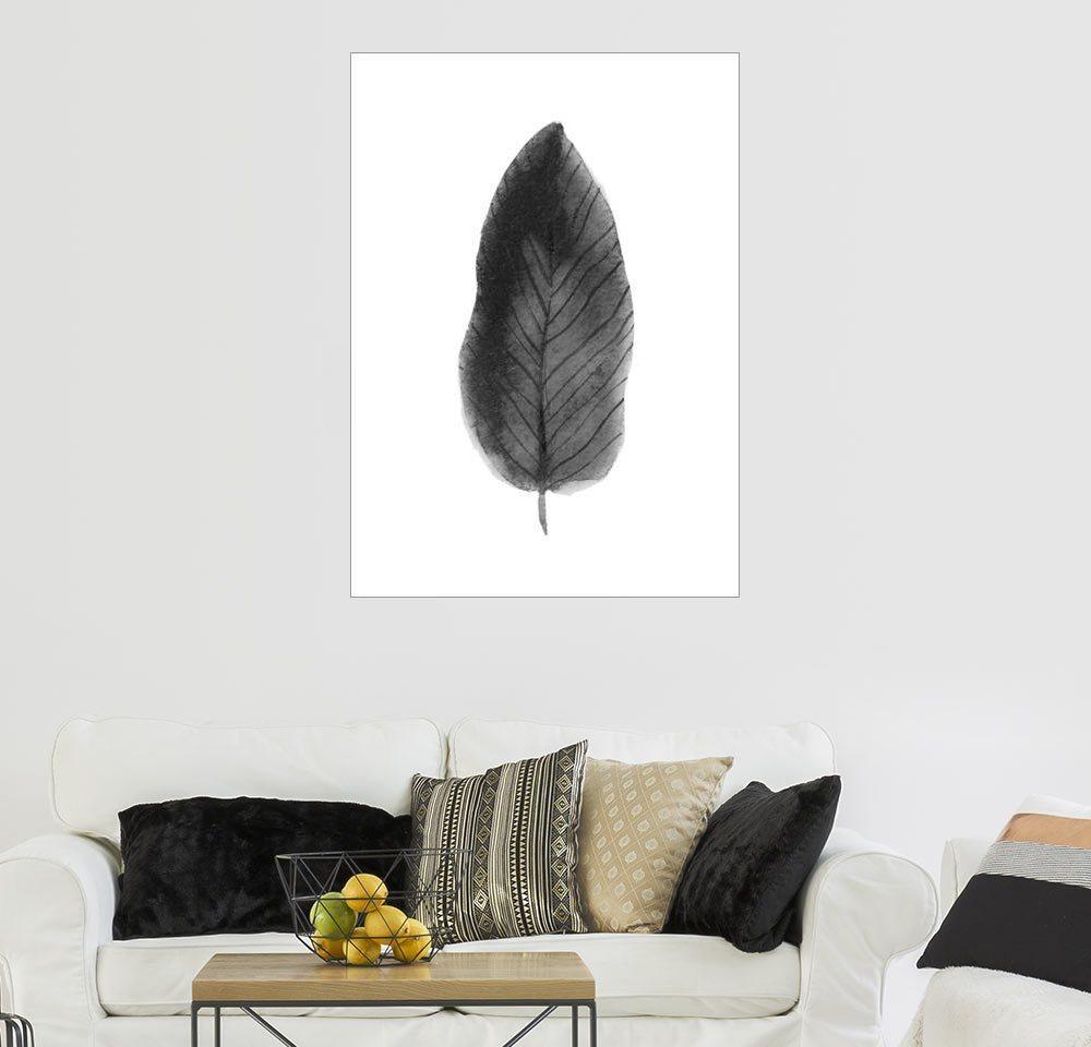 Posterlounge Wandbild - Finlay and Noa »Leaf«