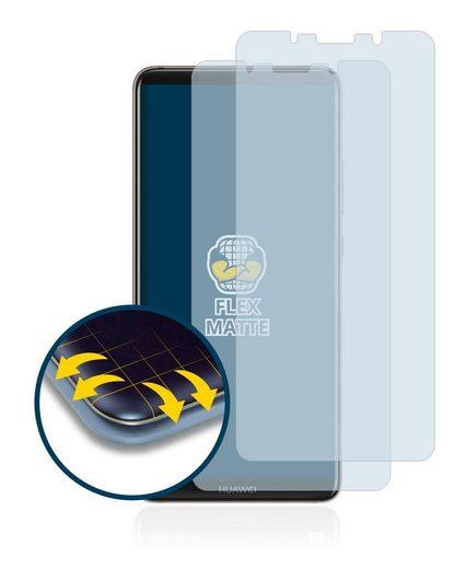 BROTECT Schutzfolie »für Huawei Mate 10 Pro«, (2 Stück), Full-Cover 3D Curved matt entspiegelt