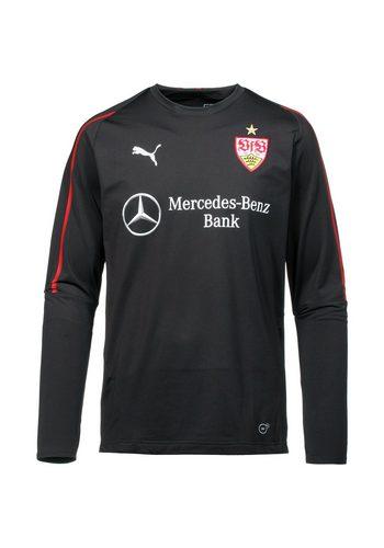 Herren PUMA Funktionsshirt VfB Stuttgart schwarz | 04059507891334