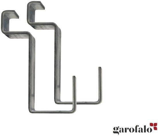 GAROFALO Wandhaken »GANCI SMALL EVO«, 2 Haken klein