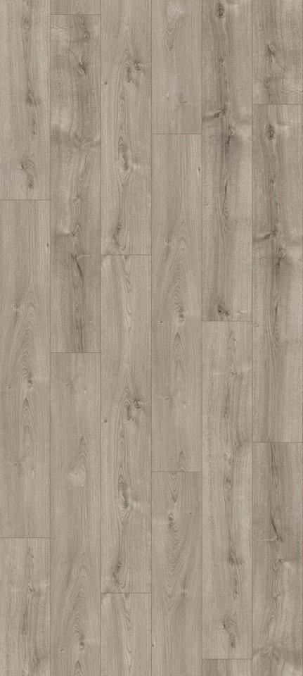 PARADOR Laminat »Classic 1070 - Eiche Valere perlgrau«, 1285 x 194 mm, Stärke: 9 mm | Baumarkt > Bodenbeläge | Braun | PARADOR