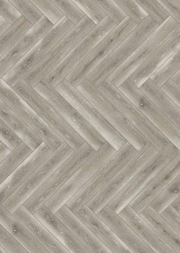 PARADOR Laminat »Trendtime 3 - Eiche Vintage Grau«, 858 x 143 mm, Stärke: 8 mm