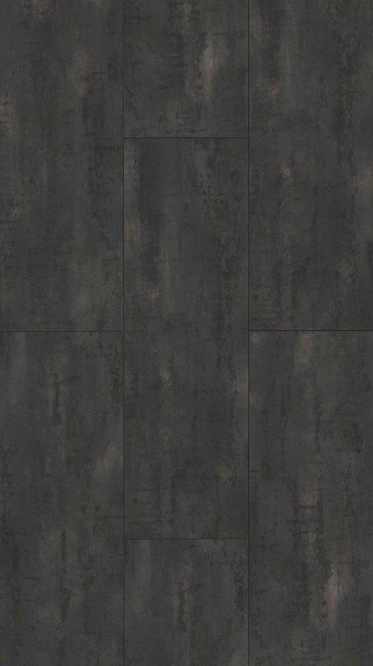 PARADOR Laminat »Trendtime 4 - Rohstahl«, 1285 x 400 mm, Stärke: 8 mm | Baumarkt > Bodenbeläge > Laminat | Grau | PARADOR