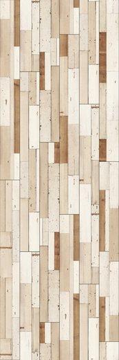 PARADOR Laminat »Trendtime 6 - Brushboard White«, 2200 x 243 mm, Stärke: 9 mm