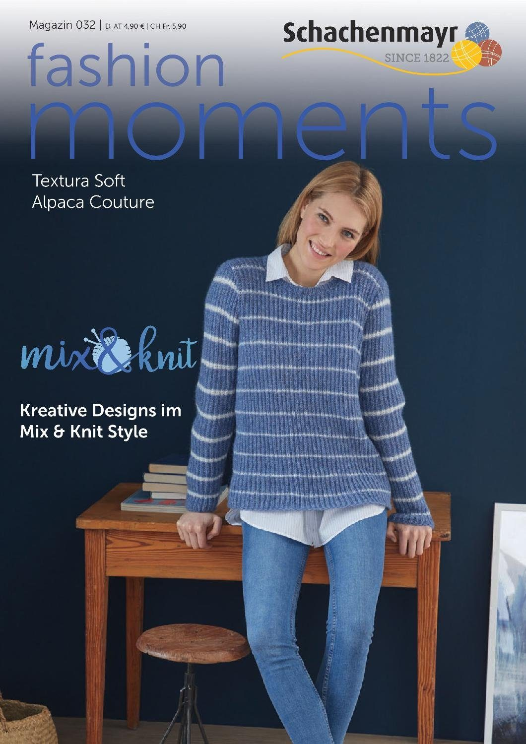 "Schachenmayr Magazin ""Fashion Moments 032"" Mix&Knit"