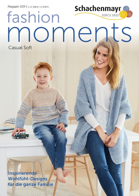 "Schachenmayr Magazin ""Fashion Moments 034"" Mix&Knit"