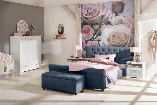 Home affaire Polsterbett »Goronna«, in 5 verschiedenen Farben und 4 Breiten