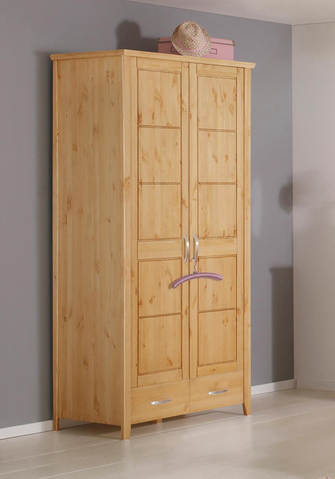 kiefer schrank massiv kleiderschrank preisvergleich die besten angebote online kaufen. Black Bedroom Furniture Sets. Home Design Ideas